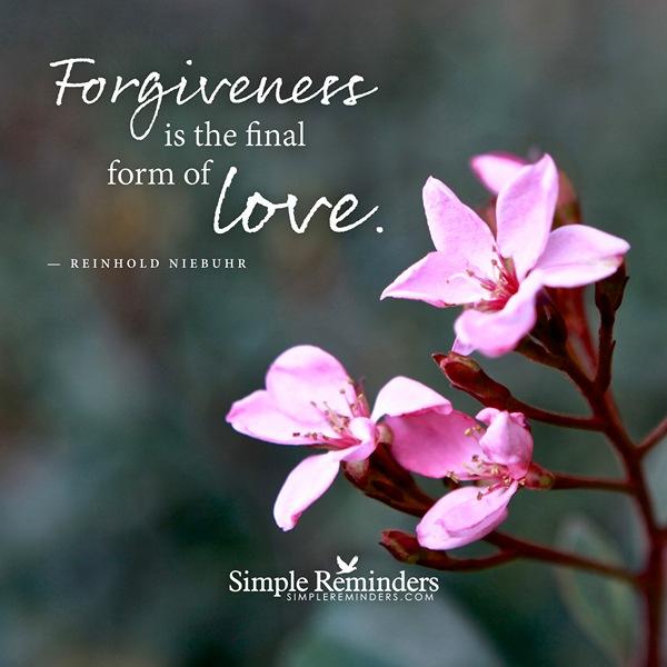 Sử Dụng Thất Giác Chi (Thất Bồ Đề Phần) Trong Công Phu Môn Niệm Phật - Sức mạnh của sự tha thứ