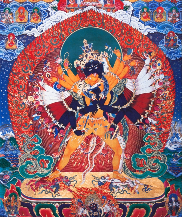 Bài viết, tiểu luận, truyện ngắn - Tư Tưởng Mật Tông Tây Tạng - Qua các huyền nghĩa của Đại thần chú OṀ MAṆI PADME HŪṀ