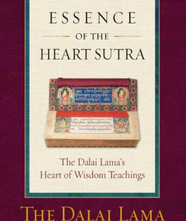 Tu học Phật pháp - Đọc Sách Essence of the Heart Sutra Của Đức Đạt Lai Lạt Ma Đời Thứ 14
