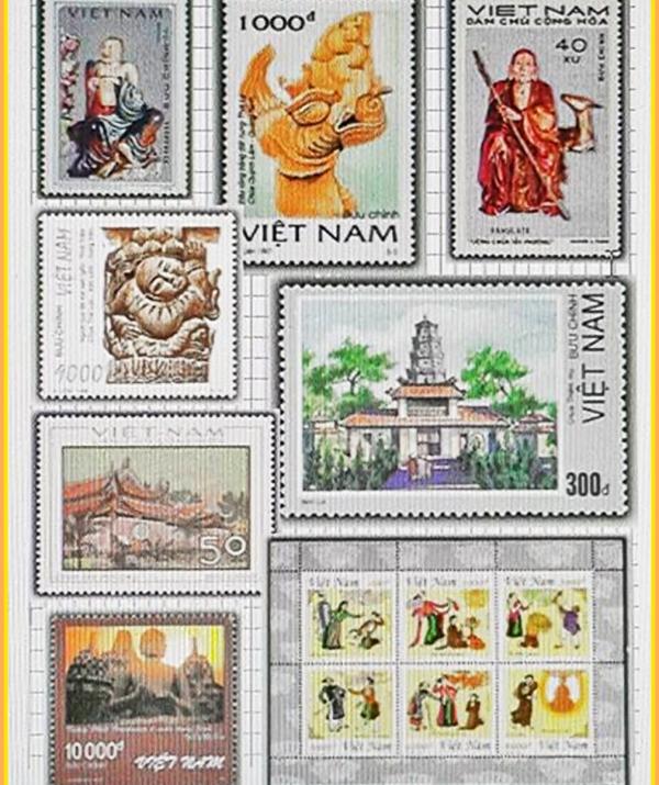 Bài viết, tiểu luận, truyện ngắn - Phật giáo Việt Nam trên tem bưu chính