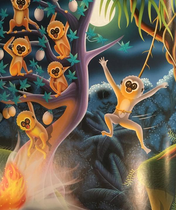 Văn học Phật giáo - Cây ánh trăng kỳ diệu