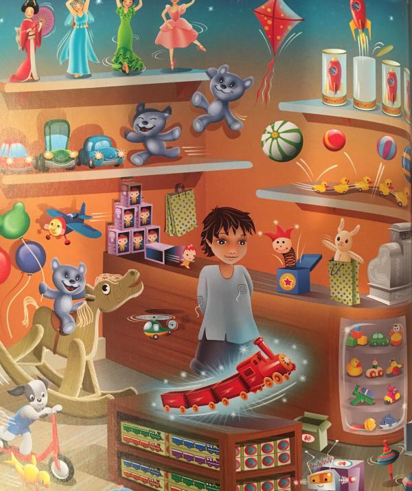 Bài viết, tiểu luận, truyện ngắn - Món đồ chơi mơ ước