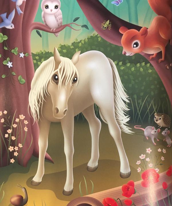 Văn học Phật giáo - Con ngựa trắng xinh đẹp