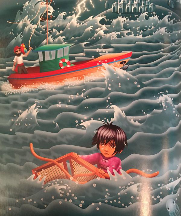 Văn học Phật giáo - Egbert và người đánh cá