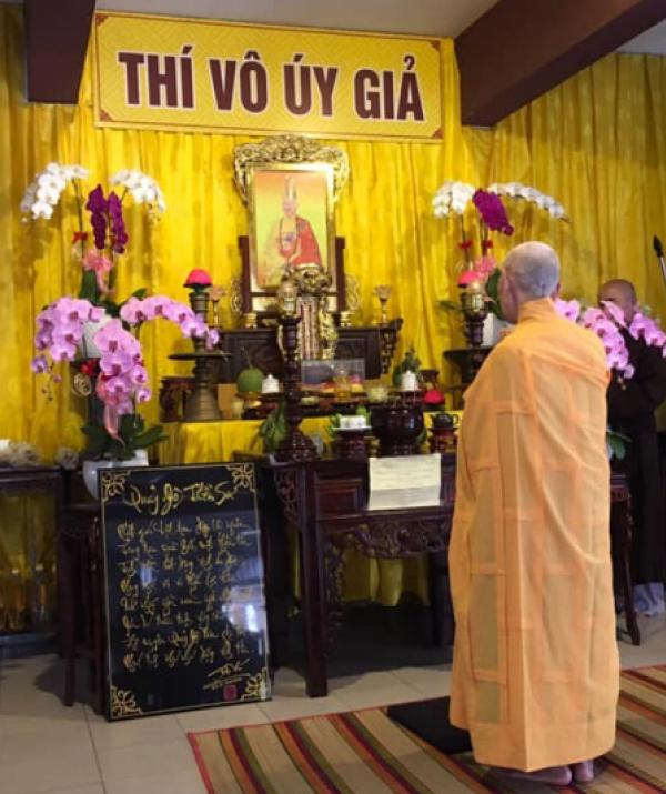 Văn học Phật giáo - Thông Bạch: Tưởng niệm lễ Tiểu Tường của đức Đệ Ngũ Tăng Thống GHPGVNTN