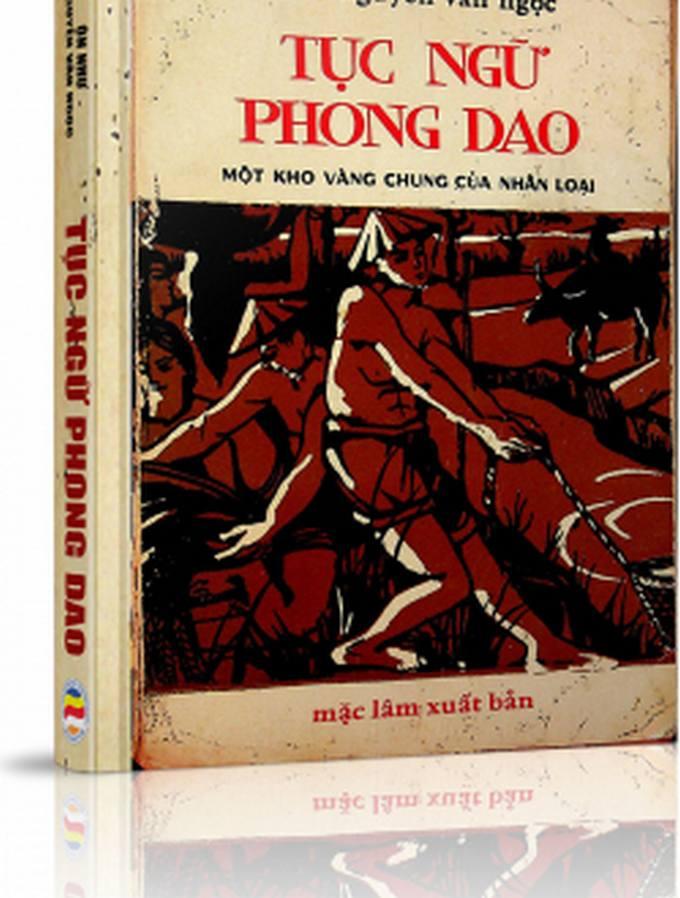 Tục ngữ Phong dao - Ôn Như Nguyễn Văn Ngọc