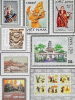 Phật giáo Việt Nam trên tem bưu chính