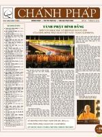 Nguyệt san Chánh Pháp số 26
