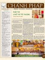 Nguyệt san Chánh Pháp số 31