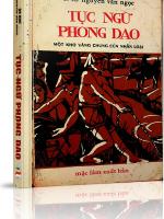 Tục ngữ Phong dao
